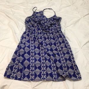 Women's gently worn patterned dress